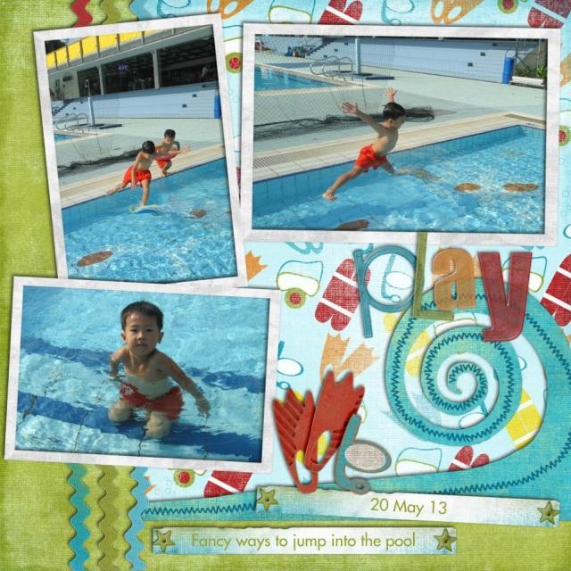 Swim 20 May 13