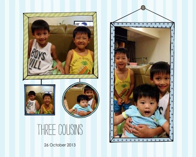 Cousins 26 Oct 13