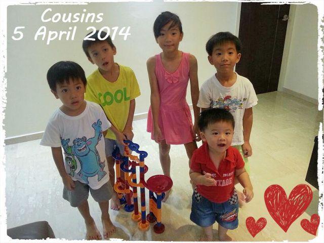 Cousins 5 Apr 14