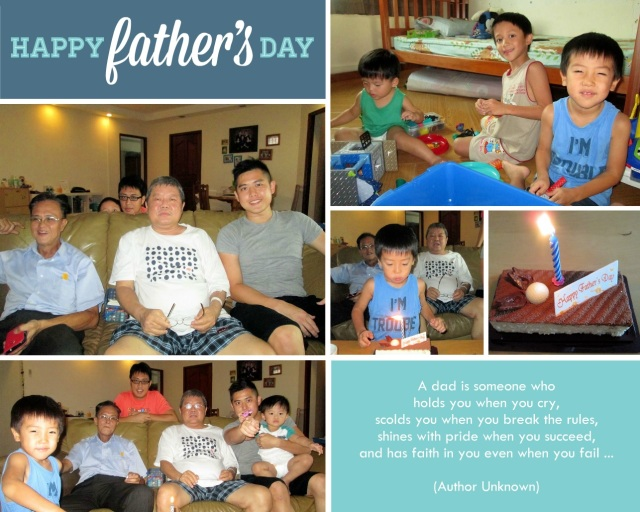 15 Jun 14 Father's Day
