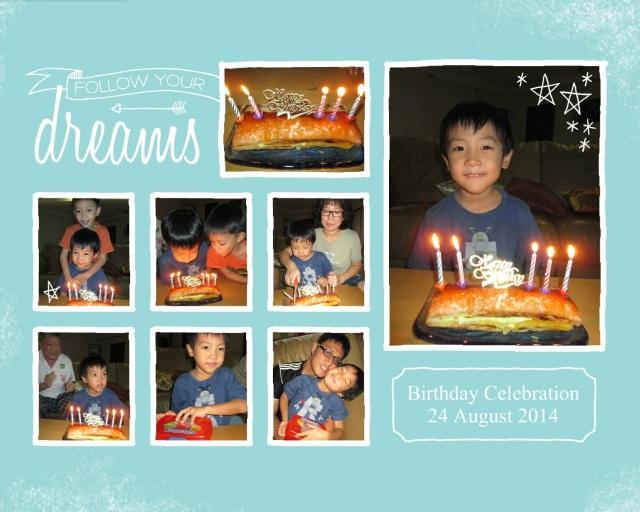 Birthday 24 August 2014